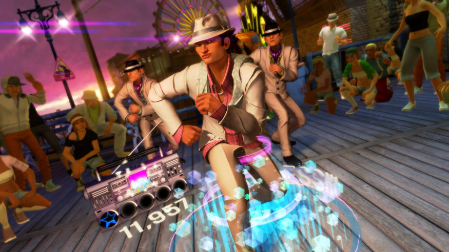 dance central xbox kinect
