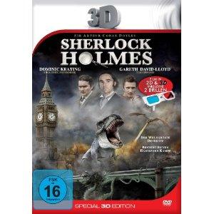 Blu ray 3D Filme Sherlock Holmes