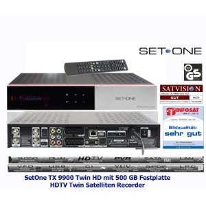 SetOne TX-9900 Twin HD