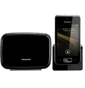 Foto: Panasonic KX-PRX120GW Smartes Festnetztelefon mit Touchscreen