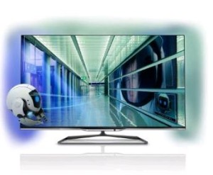 Foto: Philips 55PFL7008K-12 140 cm (55 Zoll) Ambilight 3D-LED-Backlight-Fernseher