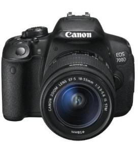 Foto: Canon EOS 700D SLR-Digitalkamera